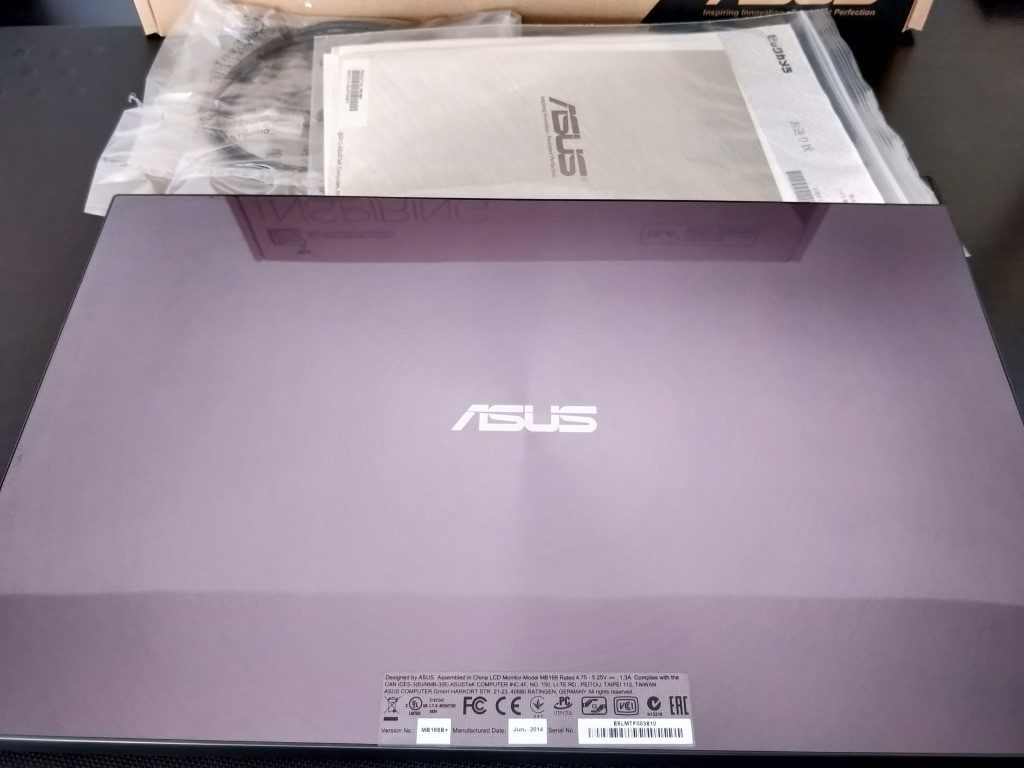 ASUS MB 168B+ 処分2
