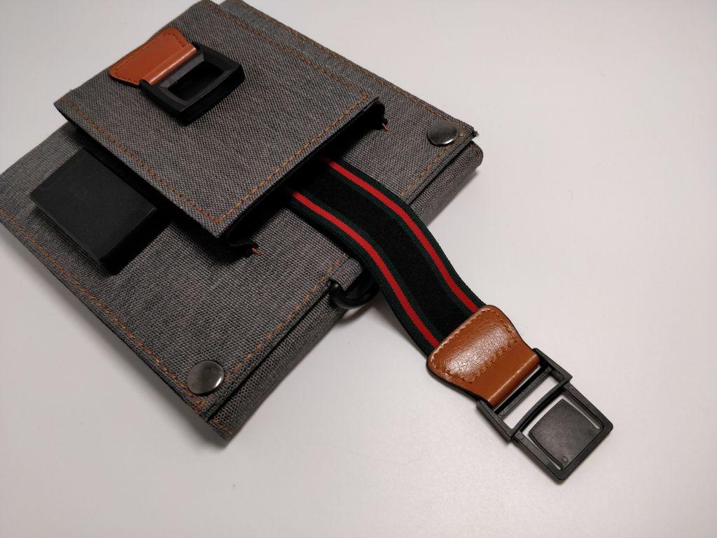 2018-USBソーラー CHOETECH ソーラーチャージャー ベルト