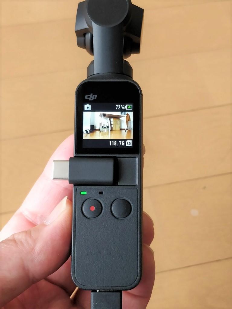 DJI Osmo Pocket  アダプタあり