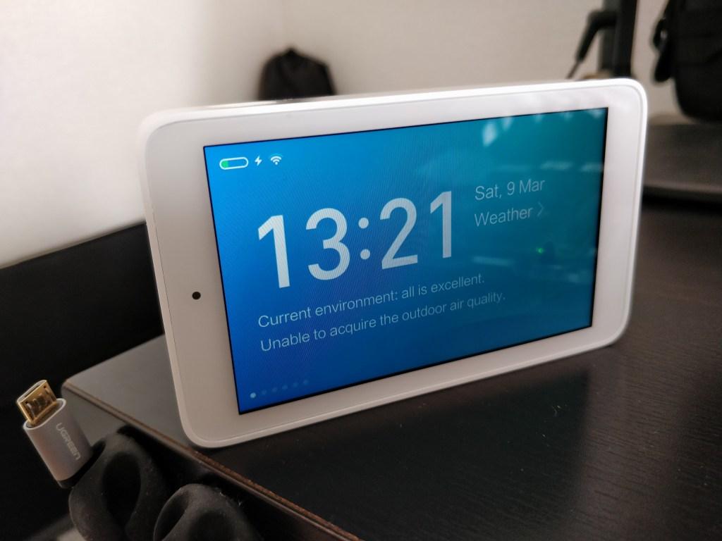Xiaomi Mijia 空気質モニター 時計
