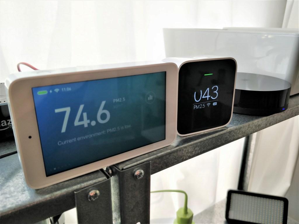 Xiaomi Mijia 空気質モニター 違い