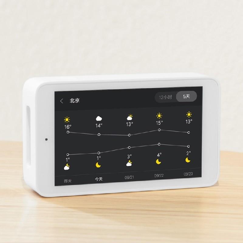 Xiaomi Mijia 空気質モニター 天気