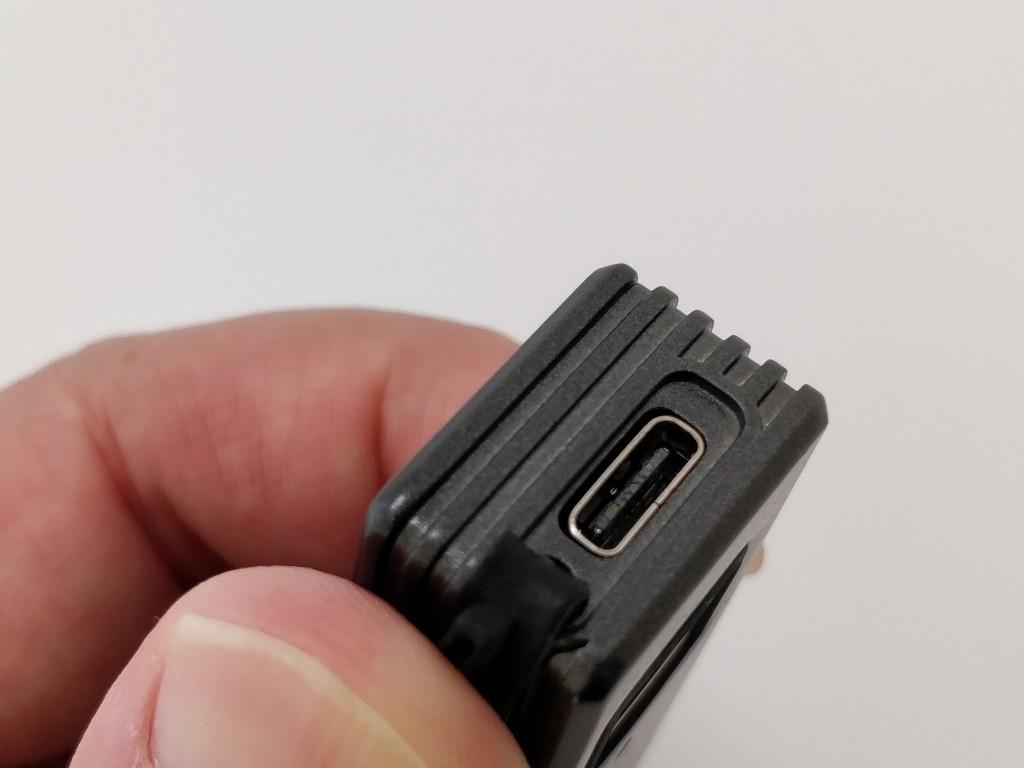 Smart Fingerprint Keyless Padlock Portable USB-C