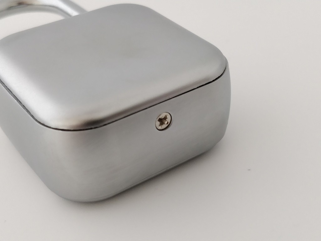 SLOK Mini Smart Bluetooth Padlock ビス