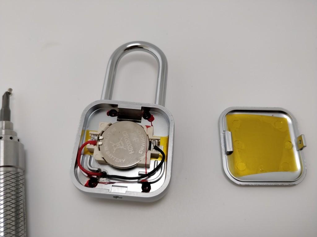 SLOK Mini Smart Bluetooth Padlock バッテリー
