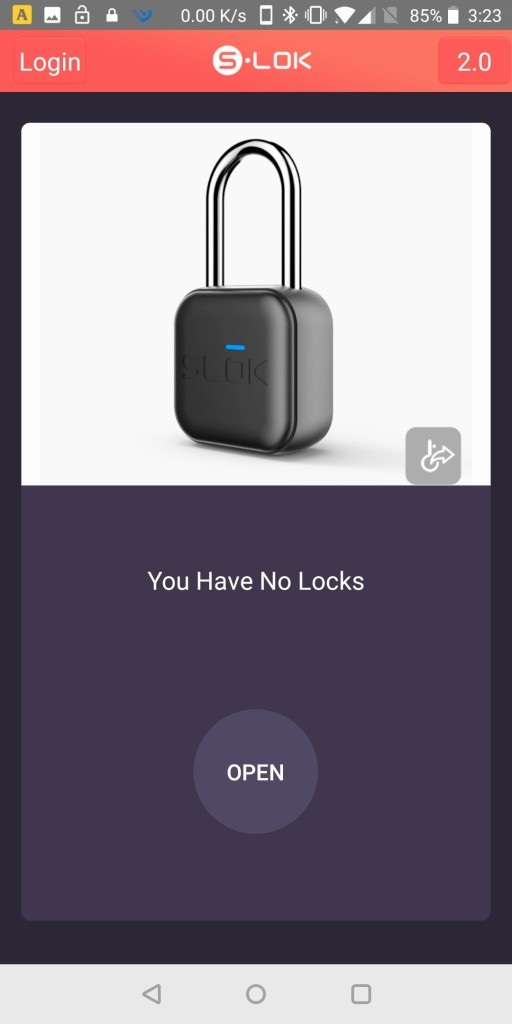 SLOK Mini Smart Bluetooth Padlock Play起動