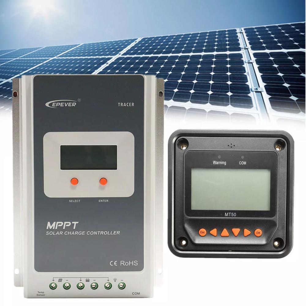 Banggood EPEVER MT50 + MPPT 12/24V 40A solar charge controller