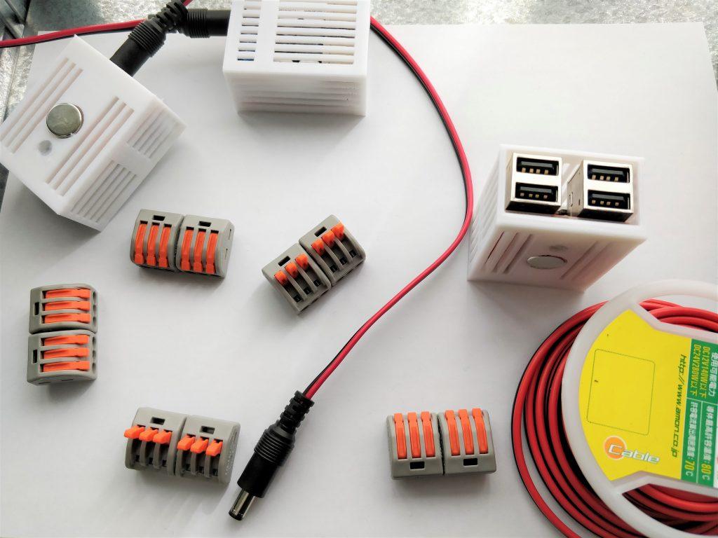 ソーラー発電の使いみち USBポート