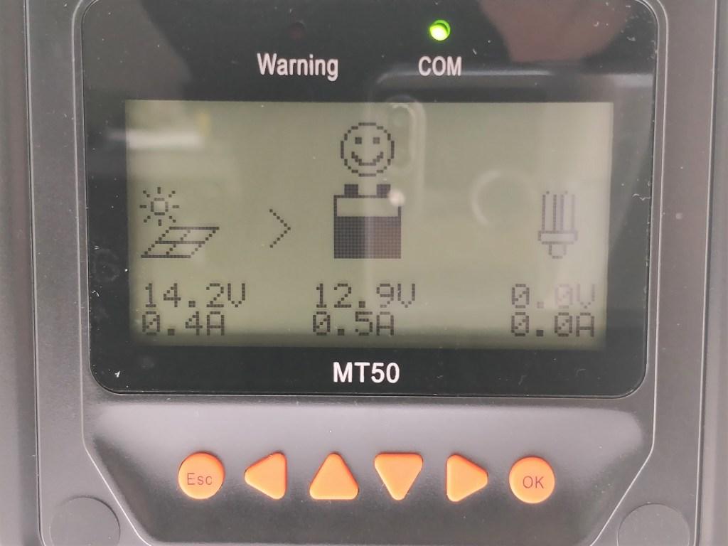 自作ソーラー チャージコントローラーMT50