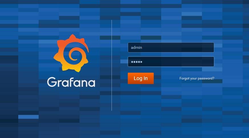 Grafana ブラウザからアクセス