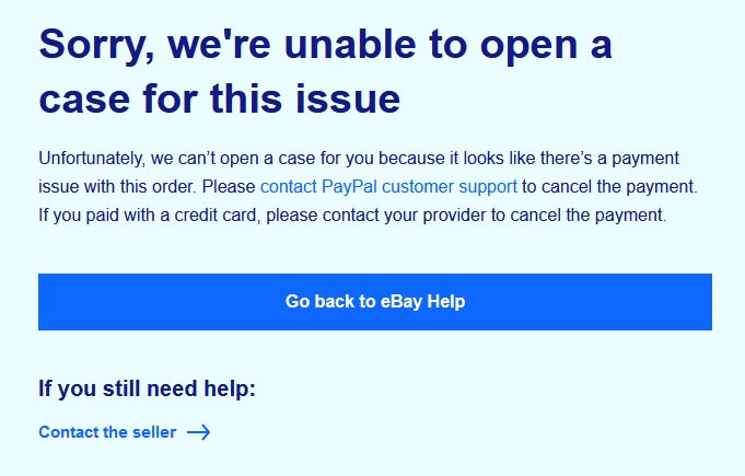 ebayトラブル 問題解決センター -