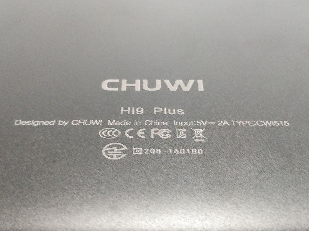 【日本版CHUWI Hi9 Plus 訂正あり】DSDS可能 対応BANDの確認・技適あり・キーボード・ペン・10.8インチ レビュー