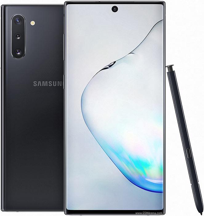Samsung Galaxy Note10(SM-N9700) Exynos 9825 , Snapdragon 855 8コア