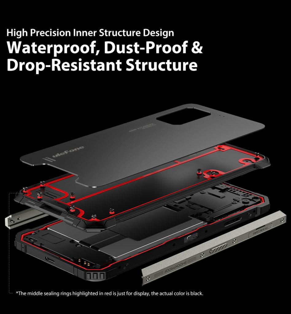 Ulefone Armor 7 IP68 IP69K Waterproof 6.3 inch 8GB 128GB 48MP Triple Camera