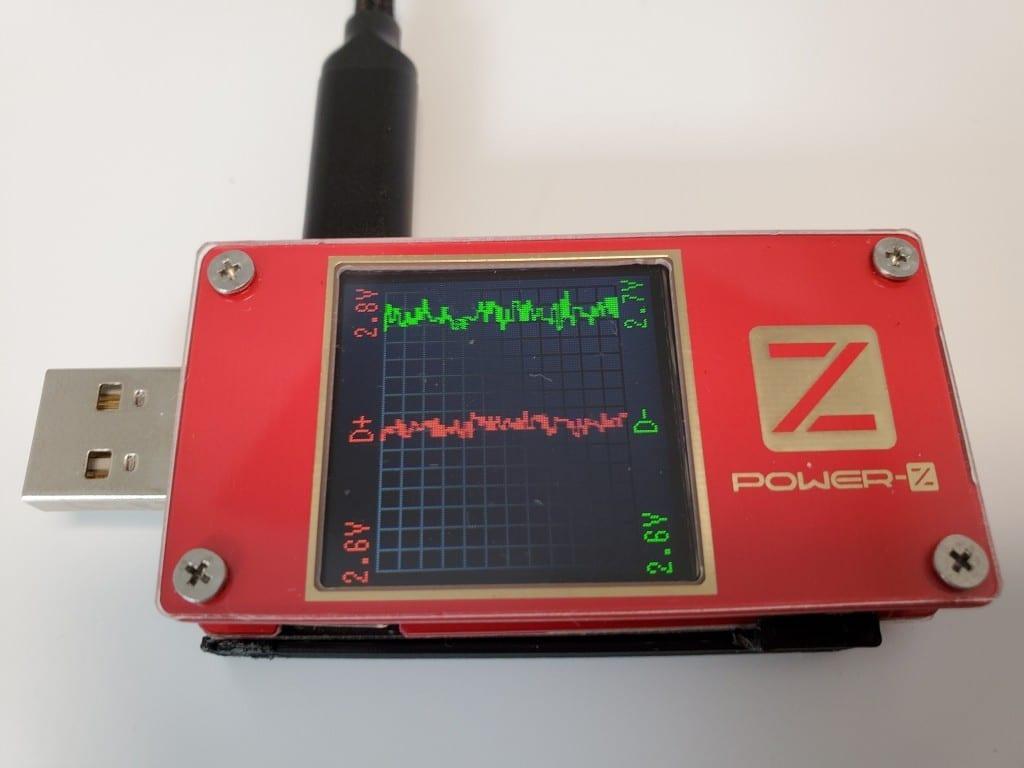 USBチェッカー POWER-Z KT001