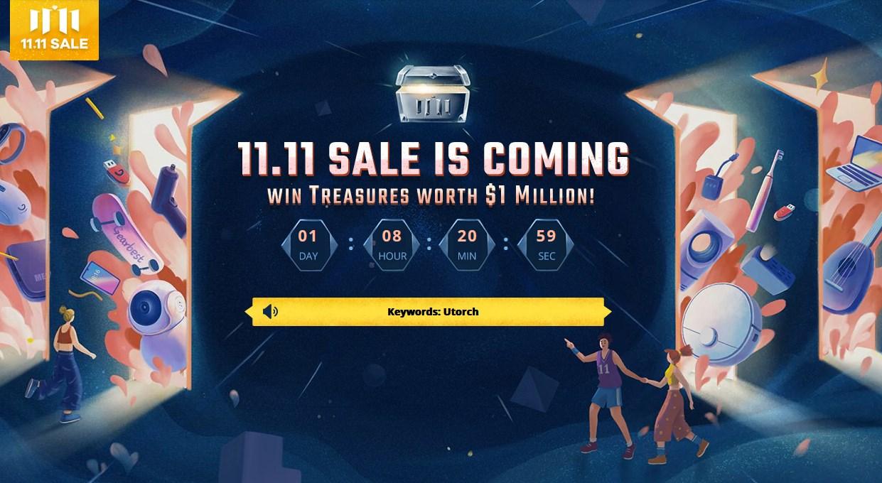 GearBest 11.11独身の日 セール会場