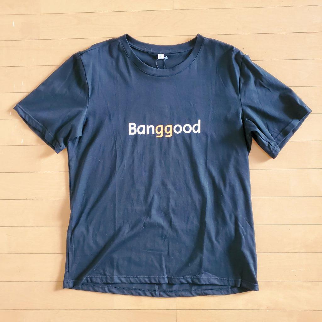 BanggoodのTシャツ