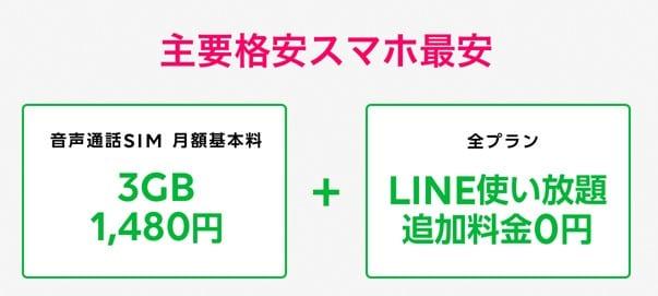 LINEモバイル 新プラン