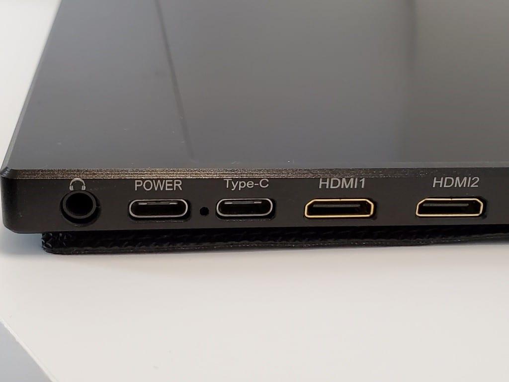 WIMAXIT 15.6インチ 4Kモバイルモニター 開封