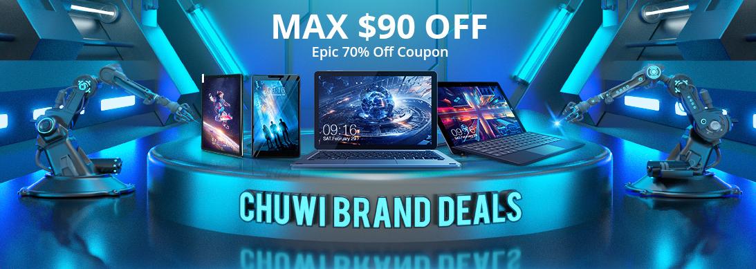 CHUWI MAX 90ドルオフキャンペーン