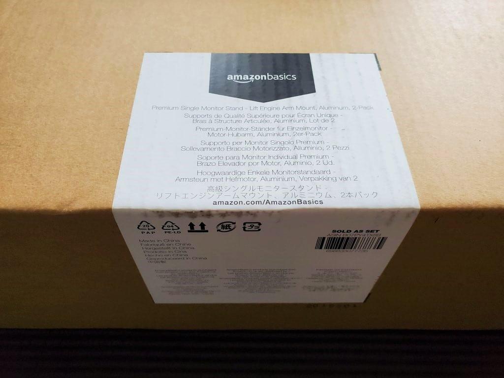 Amazonベーシック エルゴトロンOEM モニターアーム シングル ディスプレイタイプ 2点セット