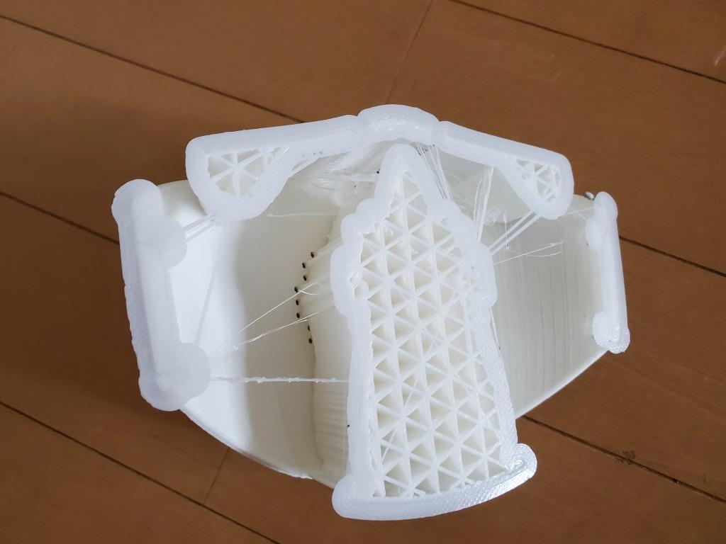3Dプリンター マスク