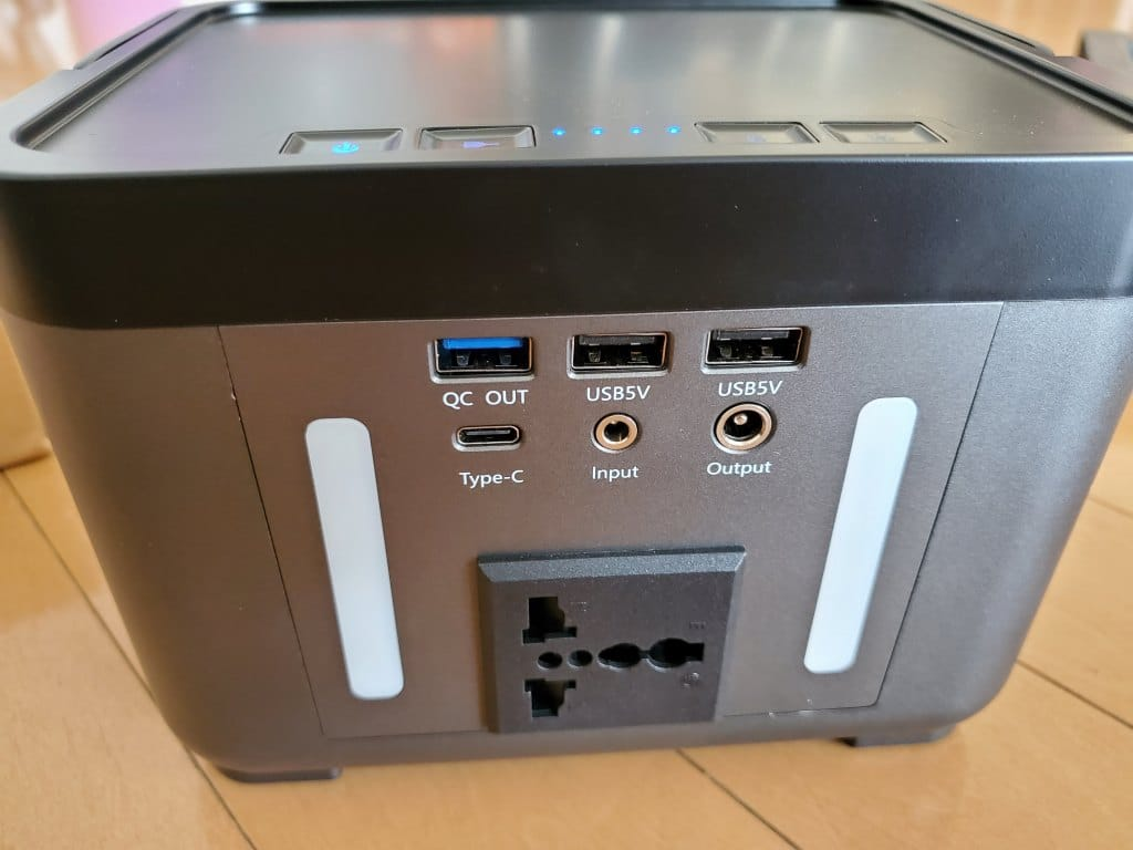 Homdox 222Whポータブルバッテリー