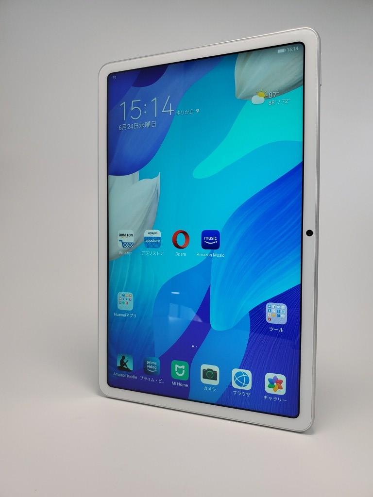 Huawei MatePad レビュー Playストアなし・野良アプリはChrome以外使える・ベンチマークテスト
