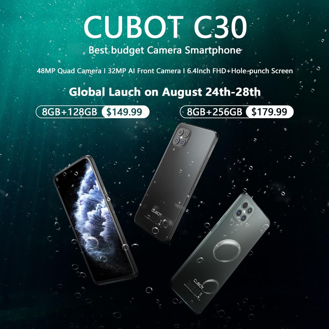 Cubot C30 デビュー