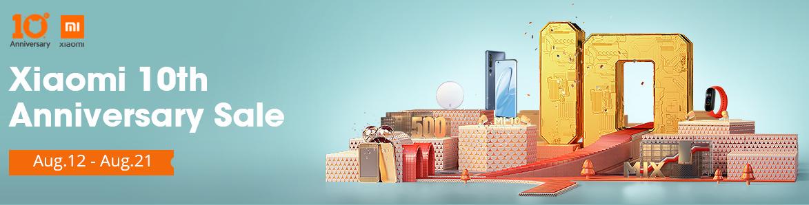 Xiaomi10周年記念セール