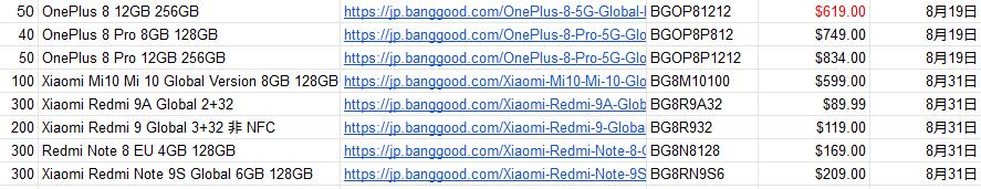 Banggood クーポン