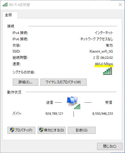 Xiaomi Wifi6ルーター AX200NGW WIFI6