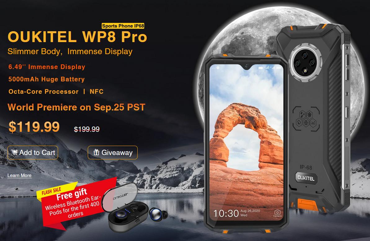 OUKITEL WP8 Pro 公式