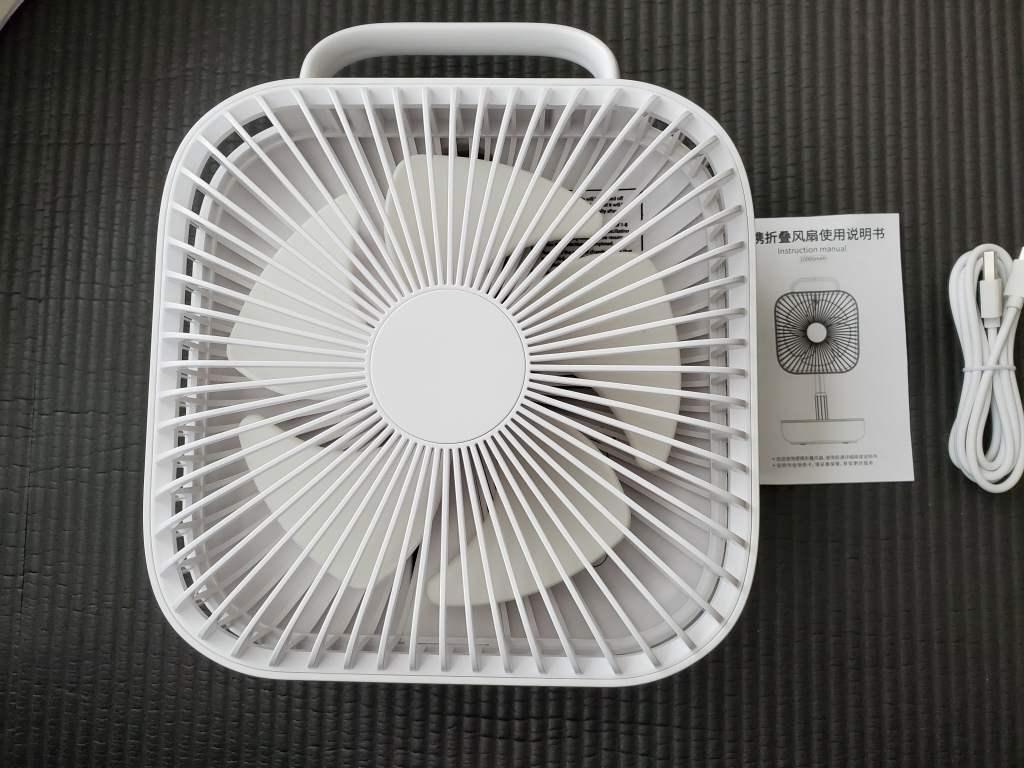 フォールディングUSB扇風機