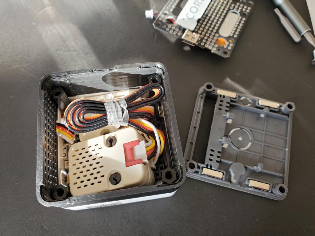 M5Stack Core2のスタッキングパーツ