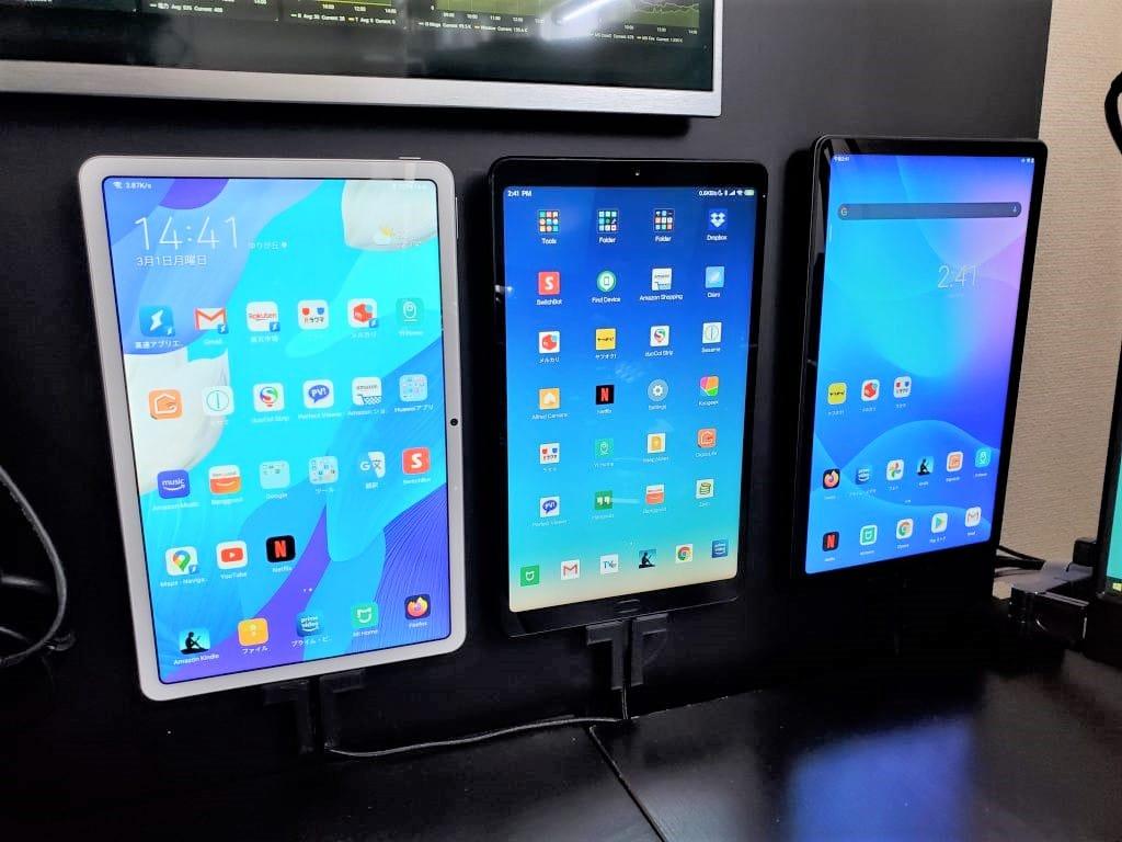 Lenovo Pad 11 タブレット レビュー11インチで4スピーカーDolby Atmos・TV視聴に最適+Lenovo TAB3