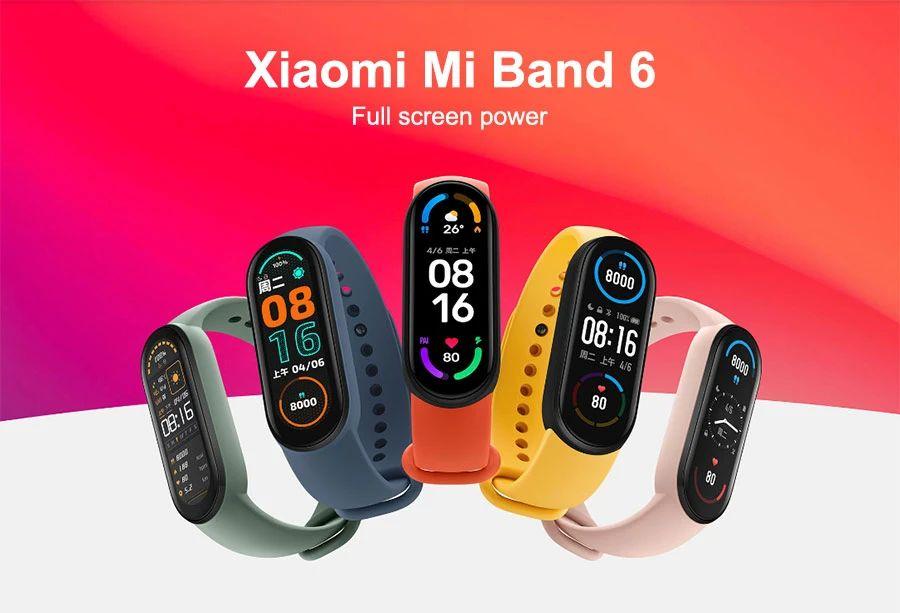 Xiaomi Mi Band 6 中国バージョン