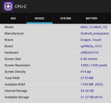 Dragon Touch Max10 Plus