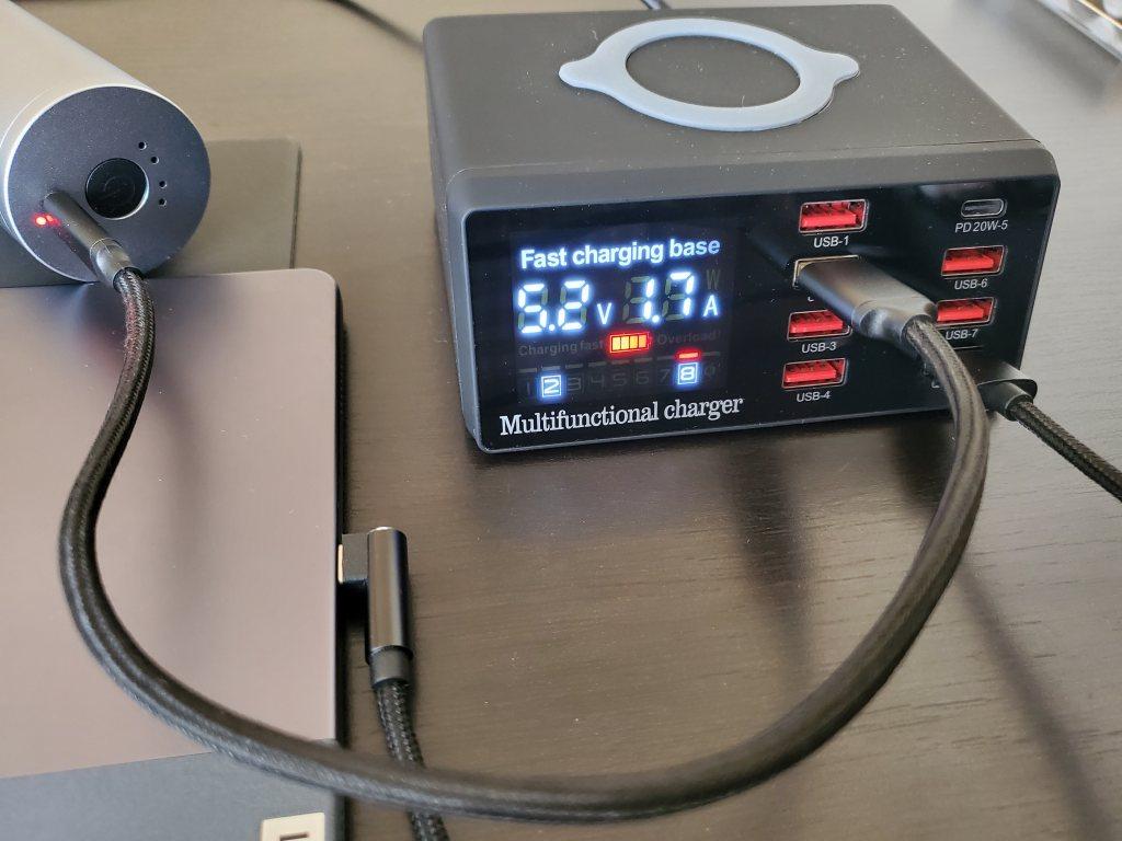 USB PD充電器 Bakeey 100W 8-Port