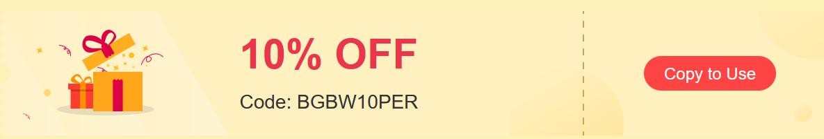 BlitzWolf フェスティバル 10%オフクーポン