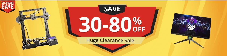 30~80%オフ クリアランス セール
