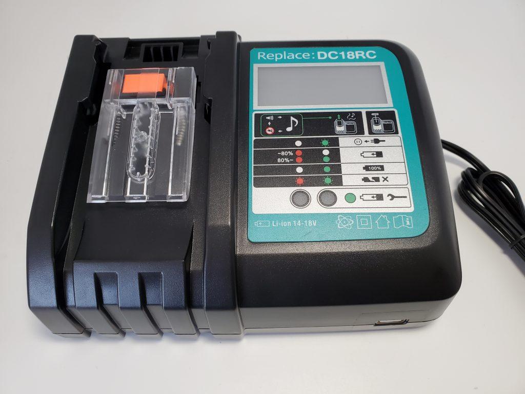 DC18RC高速リチウムイオンUSBバッテリー充電器