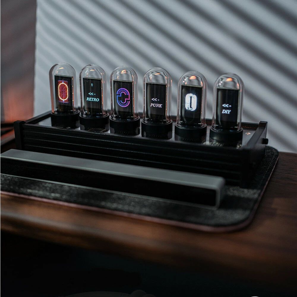 EleksMaker EleksTube Clock Colorful LED