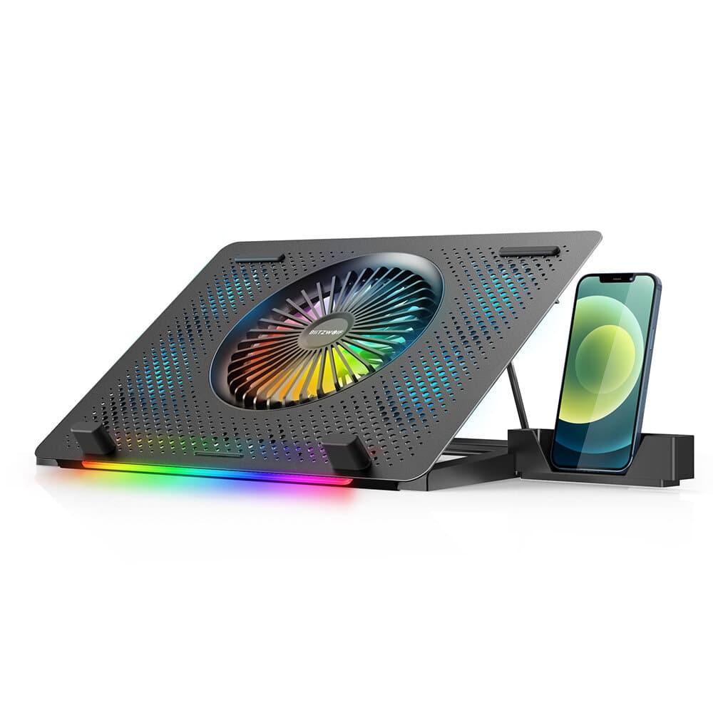 BlitzWolf BW-HS1 RGB Laptop Cooling Pad