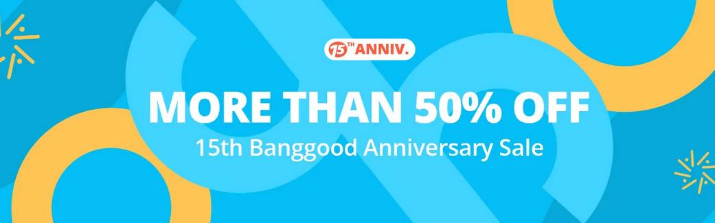 Banggood 15週年記念セール