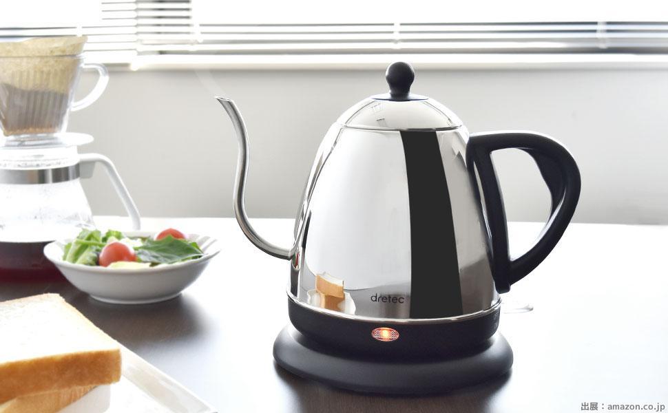 電気ケトル コーヒー